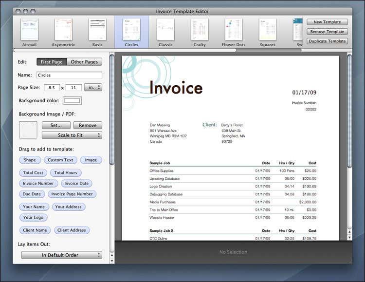 proforma invoice template. invoice