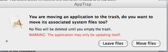 App Trap Pop-Up