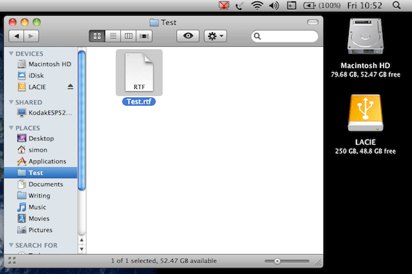 Moved File in its New Location on OS X Drive.png
