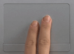 Two Finger Scroll