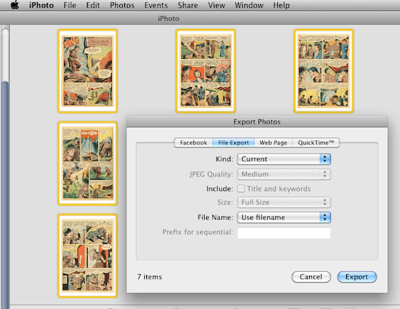 Extract Images from a PDF using Preview and iPhoto