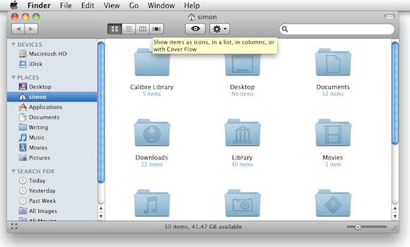 The Default Finder Toolbar Layout.png