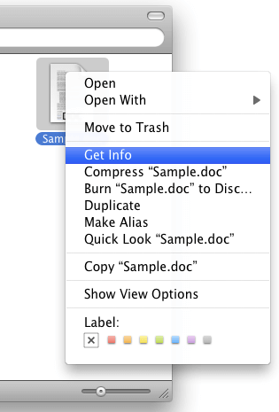 The Finder Contextual Menu in OS X.png