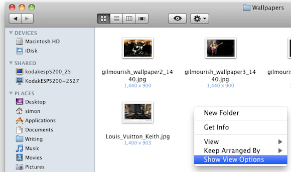 Selecting Show View Options in Finder.png