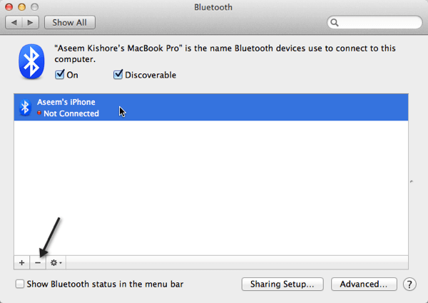 bluetooth problems os x lion