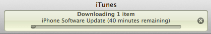 IOS 5 Downloading iTunes