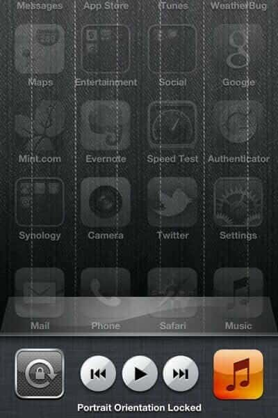 how to unlock iphone screen how to unlock screen rotation on iphone 5525