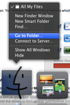 Finder - Go To Folder