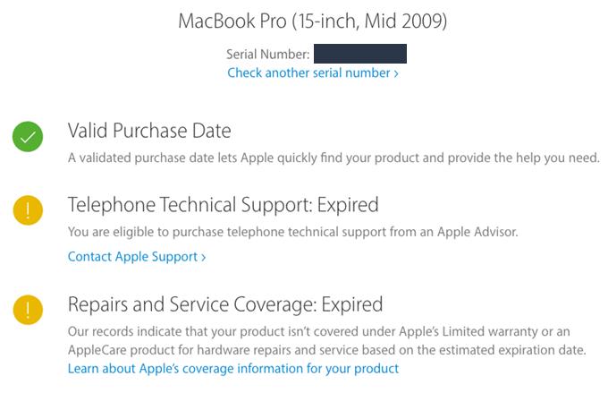 mac serial number lookup model