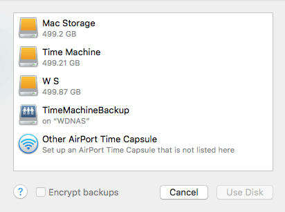 cant delete backups from time machine