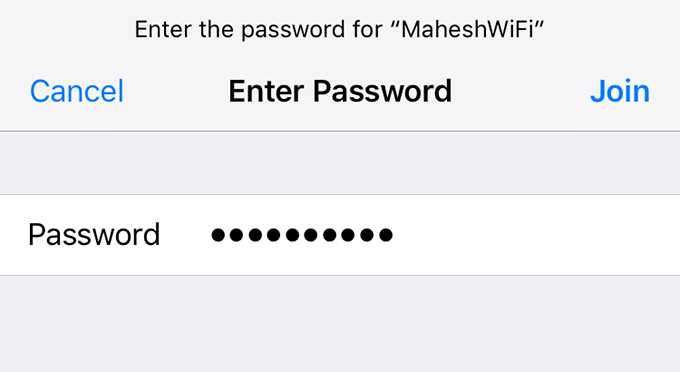 How To See Your Wifi Password On Iphone